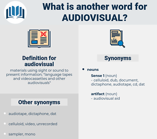 audiovisual, synonym audiovisual, another word for audiovisual, words like audiovisual, thesaurus audiovisual