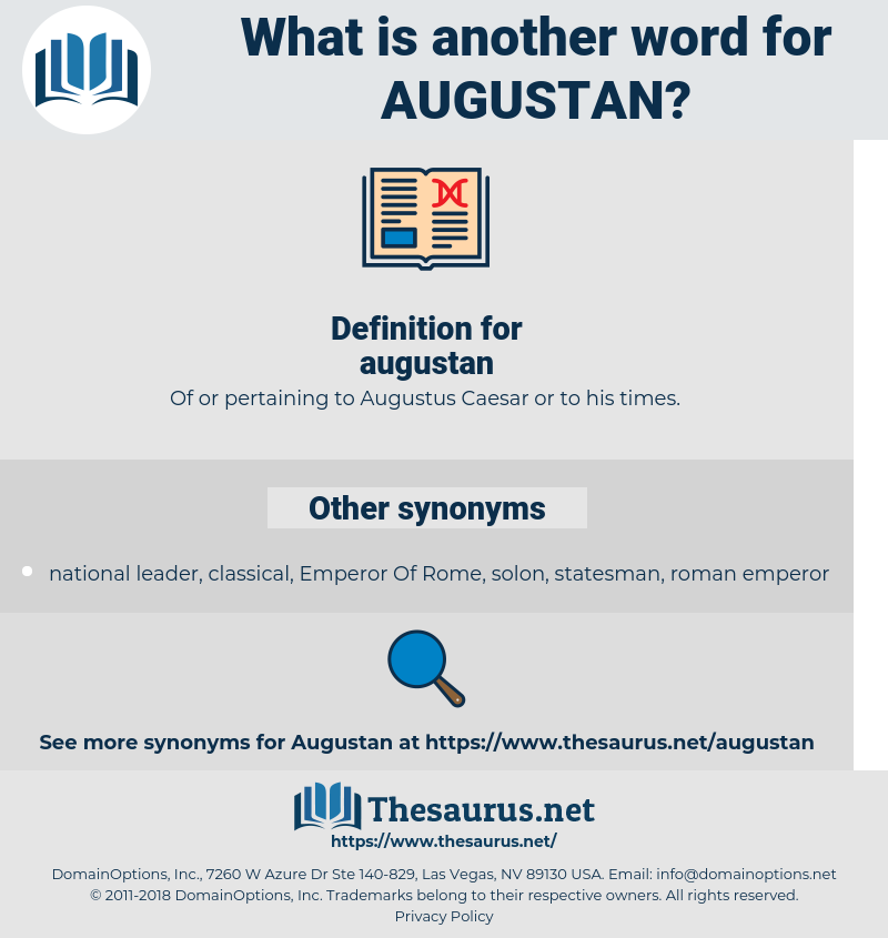 augustan, synonym augustan, another word for augustan, words like augustan, thesaurus augustan