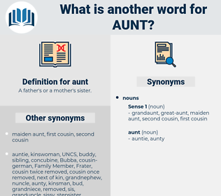 aunt, synonym aunt, another word for aunt, words like aunt, thesaurus aunt