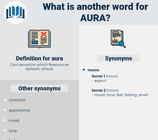 aura, synonym aura, another word for aura, words like aura, thesaurus aura