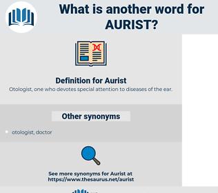 Aurist, synonym Aurist, another word for Aurist, words like Aurist, thesaurus Aurist
