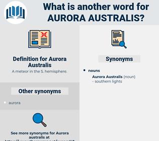 Aurora Australis, synonym Aurora Australis, another word for Aurora Australis, words like Aurora Australis, thesaurus Aurora Australis