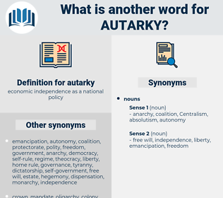 autarky, synonym autarky, another word for autarky, words like autarky, thesaurus autarky