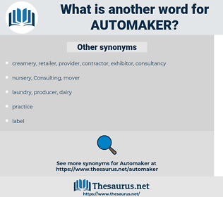 automaker, synonym automaker, another word for automaker, words like automaker, thesaurus automaker
