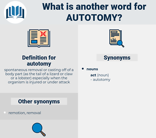 autotomy, synonym autotomy, another word for autotomy, words like autotomy, thesaurus autotomy