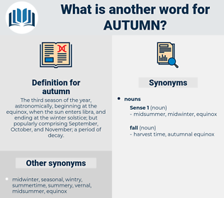 autumn, synonym autumn, another word for autumn, words like autumn, thesaurus autumn