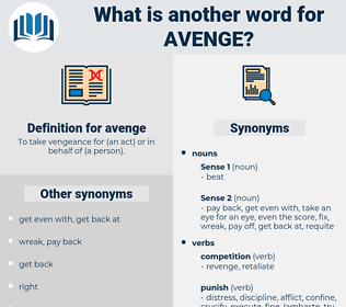 avenge, synonym avenge, another word for avenge, words like avenge, thesaurus avenge