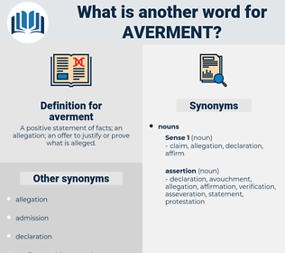 averment, synonym averment, another word for averment, words like averment, thesaurus averment