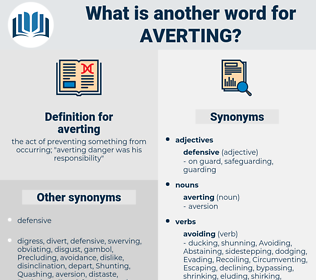 averting, synonym averting, another word for averting, words like averting, thesaurus averting