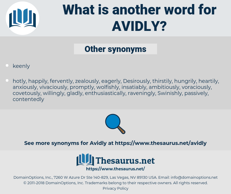 avidly, synonym avidly, another word for avidly, words like avidly, thesaurus avidly