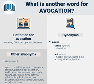 avocation, synonym avocation, another word for avocation, words like avocation, thesaurus avocation