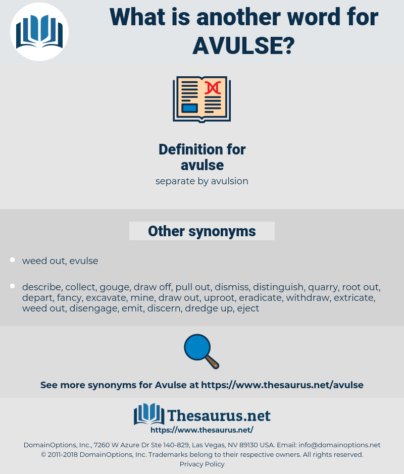 avulse, synonym avulse, another word for avulse, words like avulse, thesaurus avulse