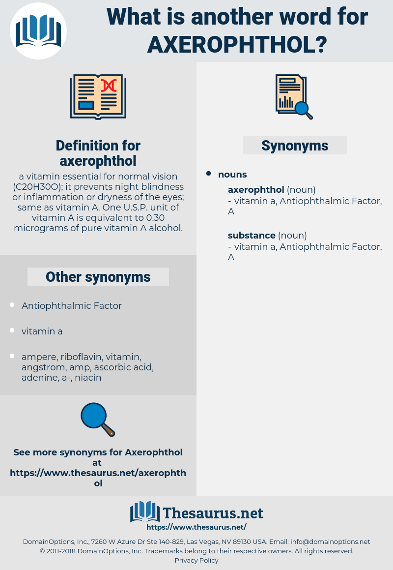 axerophthol, synonym axerophthol, another word for axerophthol, words like axerophthol, thesaurus axerophthol