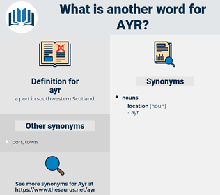 ayr, synonym ayr, another word for ayr, words like ayr, thesaurus ayr