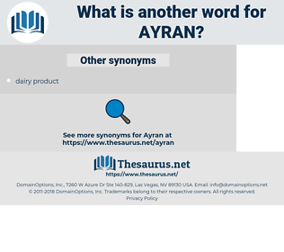 ayran, synonym ayran, another word for ayran, words like ayran, thesaurus ayran