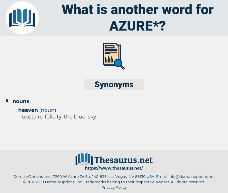 azure, synonym azure, another word for azure, words like azure, thesaurus azure