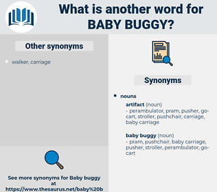baby buggy, synonym baby buggy, another word for baby buggy, words like baby buggy, thesaurus baby buggy