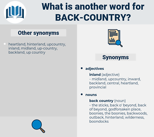 back country, synonym back country, another word for back country, words like back country, thesaurus back country