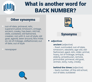 back-number, synonym back-number, another word for back-number, words like back-number, thesaurus back-number