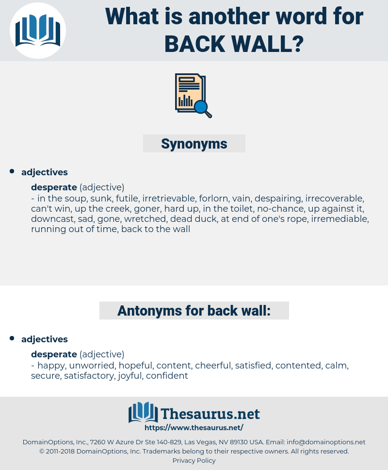 back wall, synonym back wall, another word for back wall, words like back wall, thesaurus back wall
