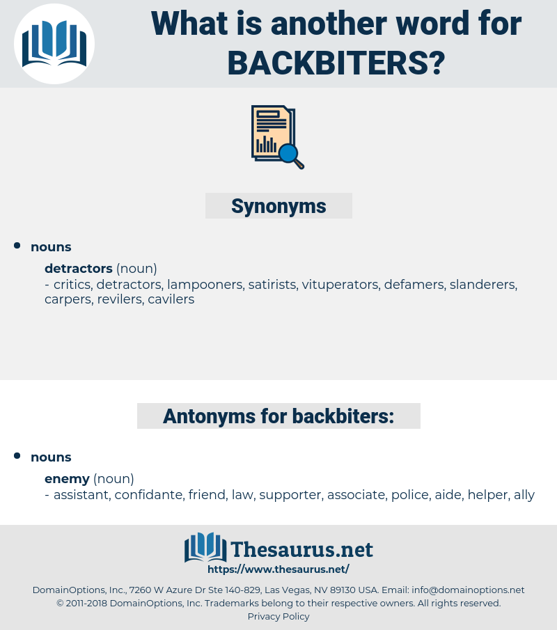 backbiters, synonym backbiters, another word for backbiters, words like backbiters, thesaurus backbiters