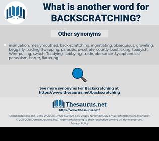 backscratching, synonym backscratching, another word for backscratching, words like backscratching, thesaurus backscratching