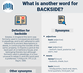 backside, synonym backside, another word for backside, words like backside, thesaurus backside