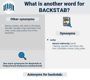 backstab, synonym backstab, another word for backstab, words like backstab, thesaurus backstab