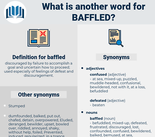 baffled, synonym baffled, another word for baffled, words like baffled, thesaurus baffled