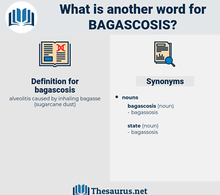 bagascosis, synonym bagascosis, another word for bagascosis, words like bagascosis, thesaurus bagascosis