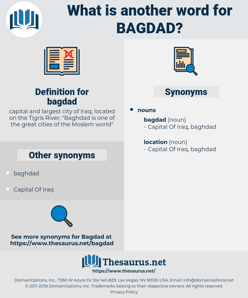 bagdad, synonym bagdad, another word for bagdad, words like bagdad, thesaurus bagdad