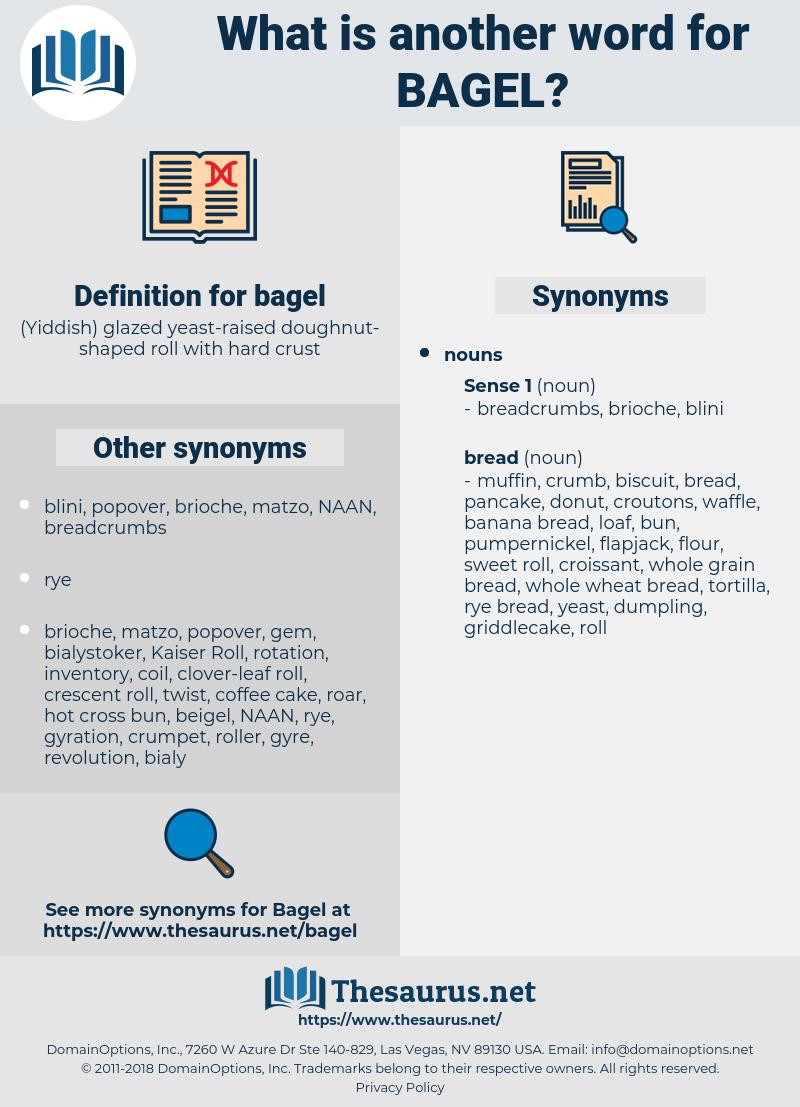 bagel, synonym bagel, another word for bagel, words like bagel, thesaurus bagel