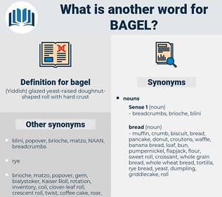 bagel, synonym bagel, another word for bagel, words like bagel, thesaurus bagel