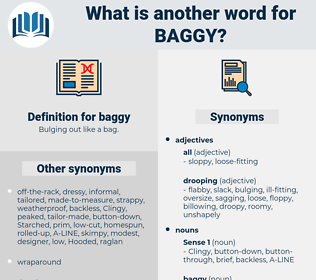 baggy, synonym baggy, another word for baggy, words like baggy, thesaurus baggy