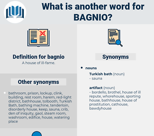 bagnio, synonym bagnio, another word for bagnio, words like bagnio, thesaurus bagnio