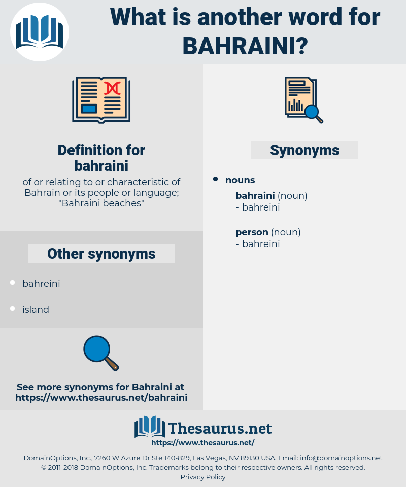 bahraini, synonym bahraini, another word for bahraini, words like bahraini, thesaurus bahraini