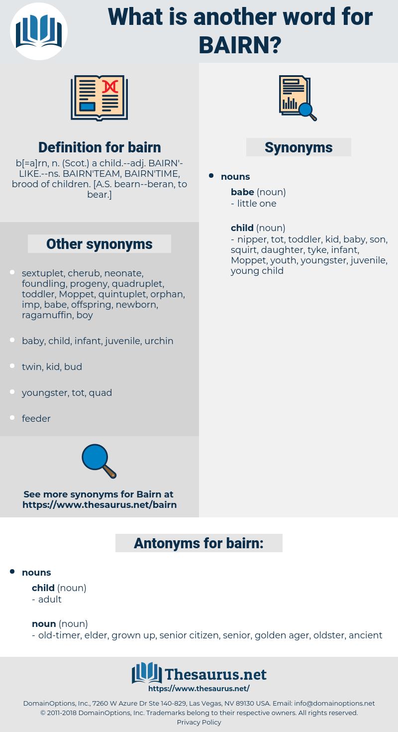 bairn, synonym bairn, another word for bairn, words like bairn, thesaurus bairn