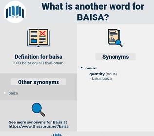baisa, synonym baisa, another word for baisa, words like baisa, thesaurus baisa