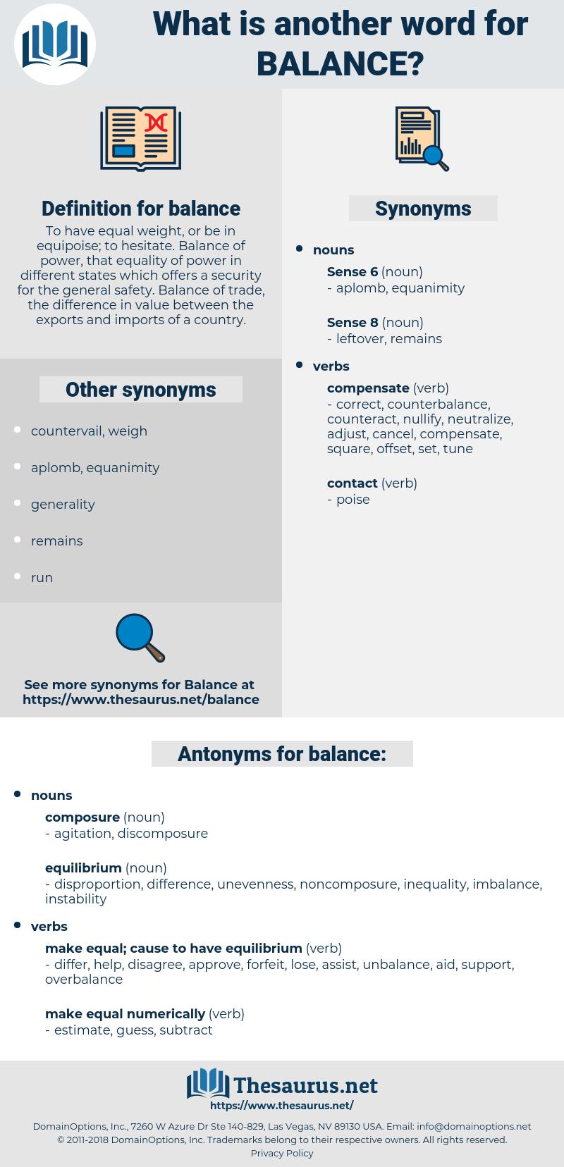 balance, synonym balance, another word for balance, words like balance, thesaurus balance
