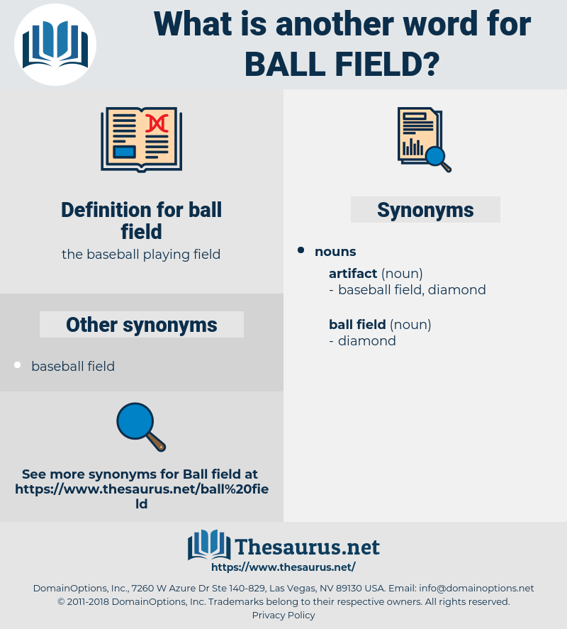 ball field, synonym ball field, another word for ball field, words like ball field, thesaurus ball field