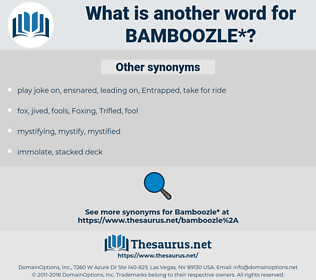 bamboozle, synonym bamboozle, another word for bamboozle, words like bamboozle, thesaurus bamboozle