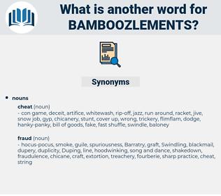 bamboozlements, synonym bamboozlements, another word for bamboozlements, words like bamboozlements, thesaurus bamboozlements