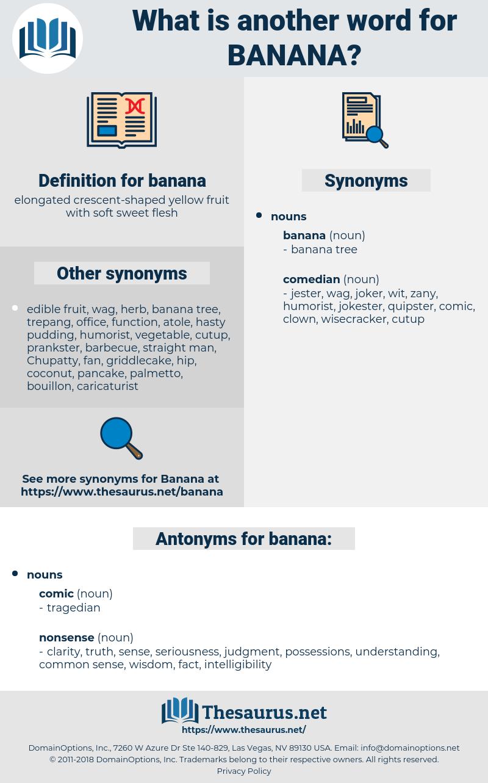banana, synonym banana, another word for banana, words like banana, thesaurus banana