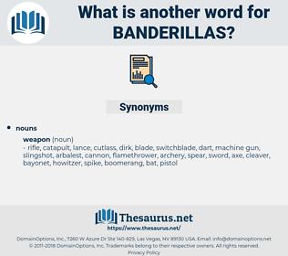 banderillas, synonym banderillas, another word for banderillas, words like banderillas, thesaurus banderillas