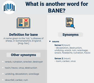 bane, synonym bane, another word for bane, words like bane, thesaurus bane