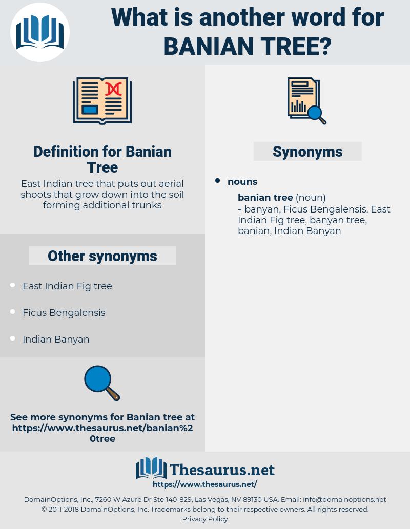 Banian Tree, synonym Banian Tree, another word for Banian Tree, words like Banian Tree, thesaurus Banian Tree