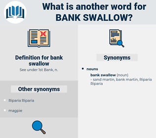 bank swallow, synonym bank swallow, another word for bank swallow, words like bank swallow, thesaurus bank swallow