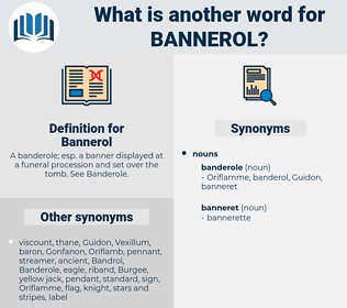 Bannerol, synonym Bannerol, another word for Bannerol, words like Bannerol, thesaurus Bannerol
