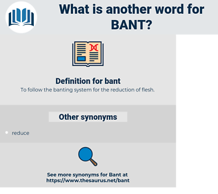 bant, synonym bant, another word for bant, words like bant, thesaurus bant