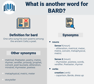 bard, synonym bard, another word for bard, words like bard, thesaurus bard